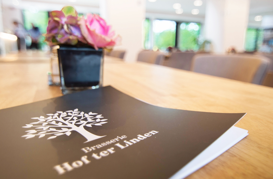 Brasserie Hof ter Linden - Menukaart